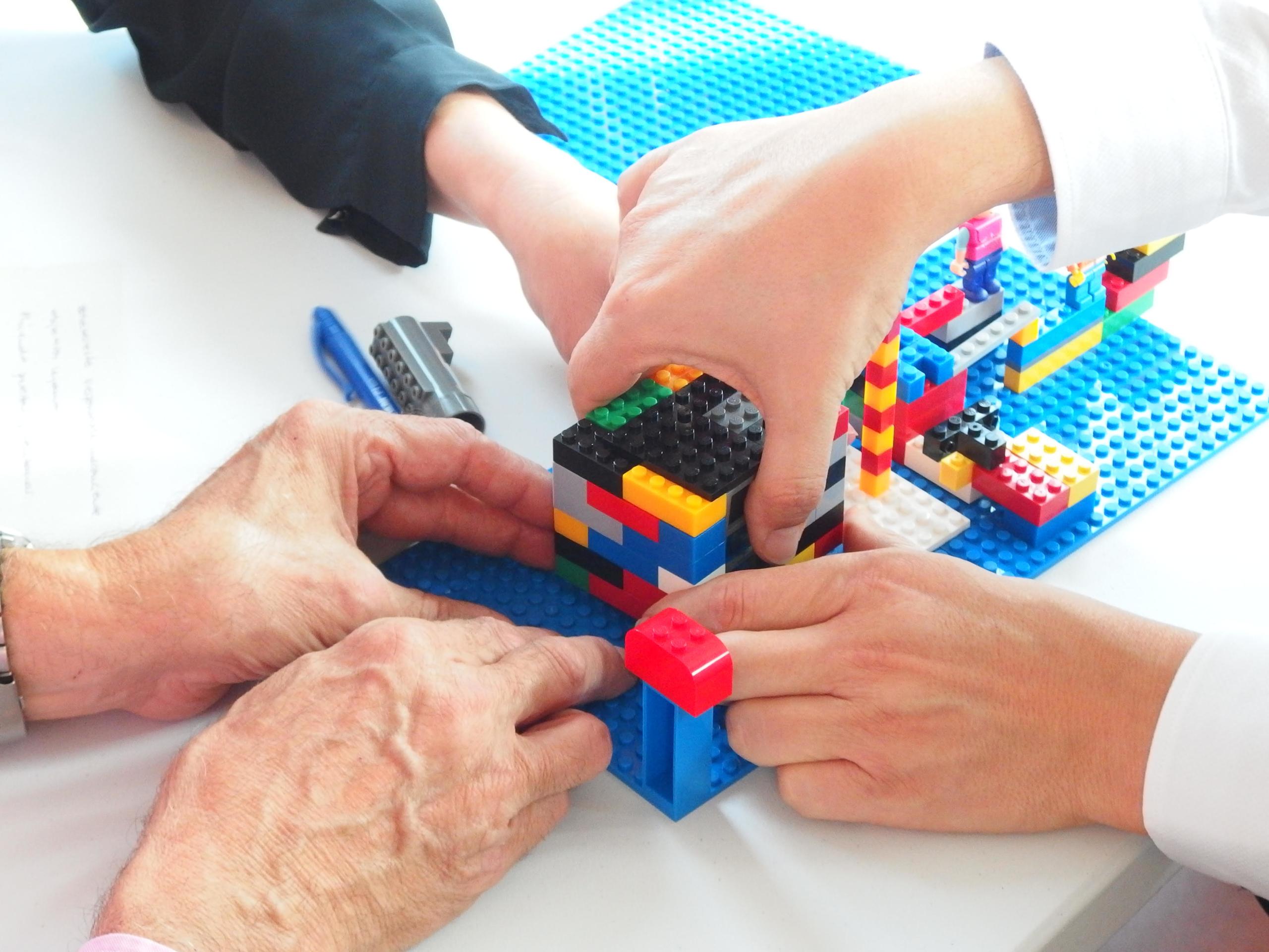 Dinámica Lego Serious Play diseñada por Inteligencia Colectiva